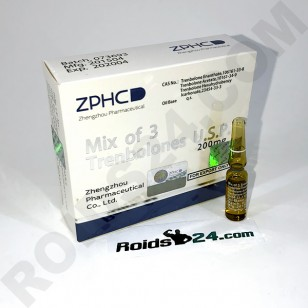 Mix of 3 Trenbolones ZPHC  200 mg/ml 1 ml 10 amps - [USA Domestic]
