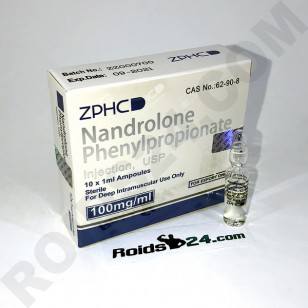 Nandrolone Phenylpropionate ZPHC 100 mg/ml 10 amps - [USA Domestic]