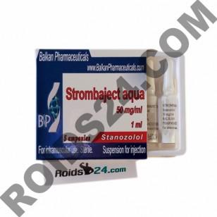 Strombaject Aqua 50 mg/ml 1 ml 5 ampoules - Buy Stanozolol