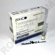 Testosterone Enanthate ZPHC 250 mg/ml 1 ml 10 amps