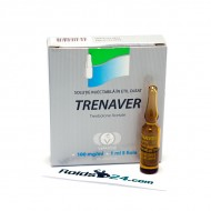 Trenaver 100 mg/ml 1 ml 5 ampoules - Buy Trenbolone Acetate