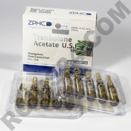 Trenbolone Acetate ZPHC 100 mg/ml 1 ml 10 amps