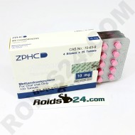 Methandienone ZPHC 10 mg 100 tabs [USA Domestic]