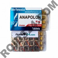 Anapolon 50 mg 60 tabs - Buy Oxymetholone