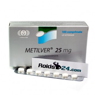 Metilver 25 mg 100 tabs - Buy Methyltestosterone